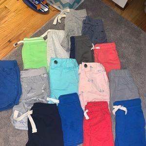 15 Toddler boy shorts bundle.